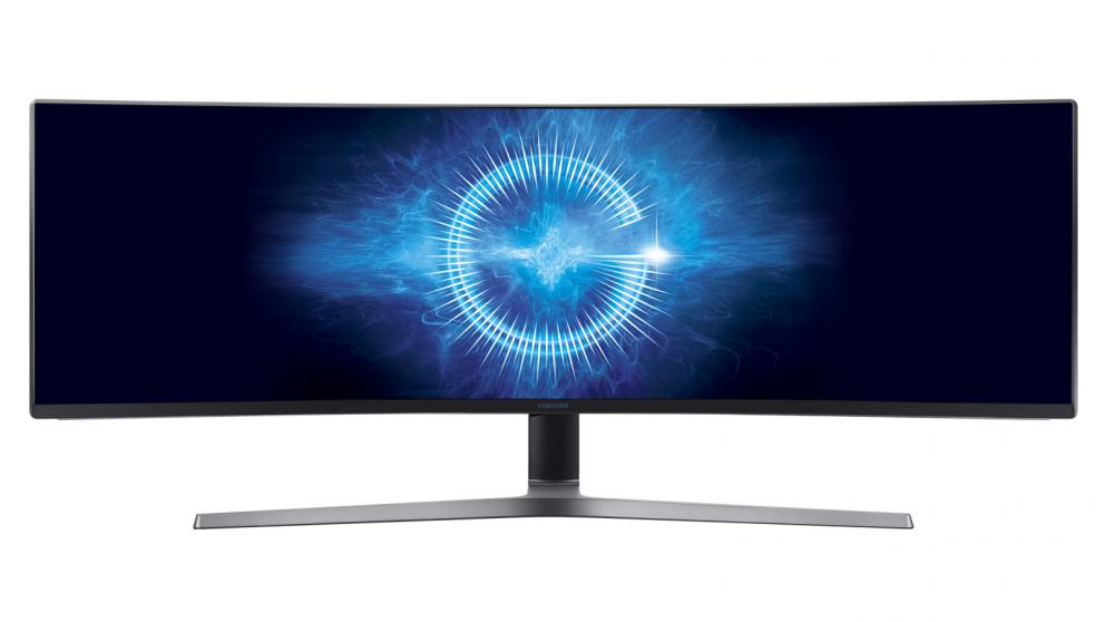 Samsung 48.9″ Ultra-wide Curved Gaming Monitor