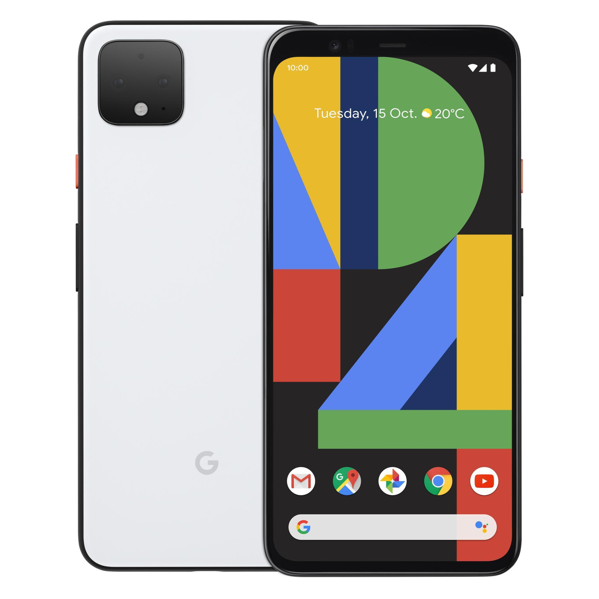 Google Pixel 4 128GB (Clearly White)