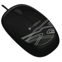 Logitech Corded Mouse Black M105
