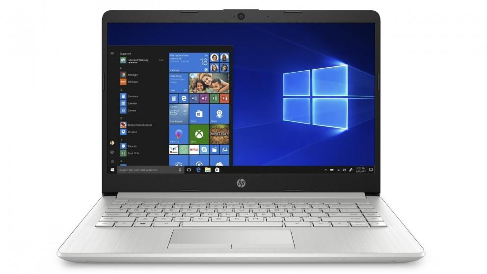 HP 14-inch A4/4GB/128GB SSD Laptop – Natural Silver