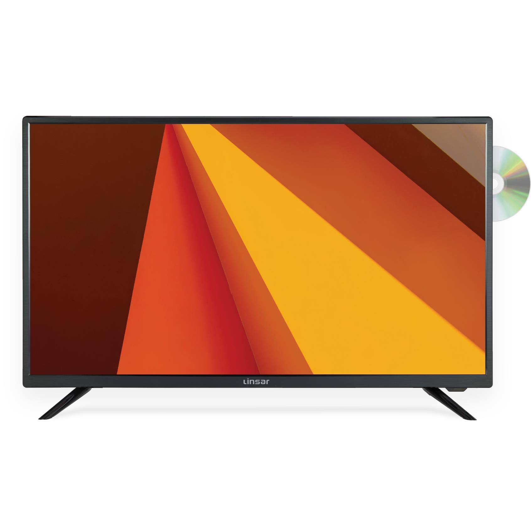 Linsar 32″ HD TV with Built-In DVD Player