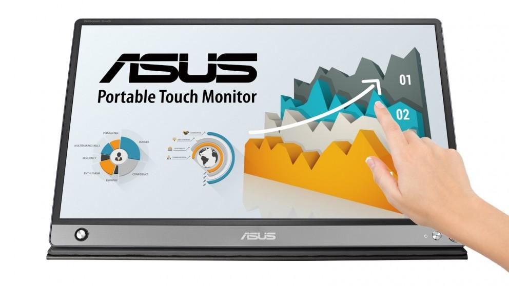 Asus 15.6-inch ZenScreen Touch MB16AMT Full HD Portable Monitor