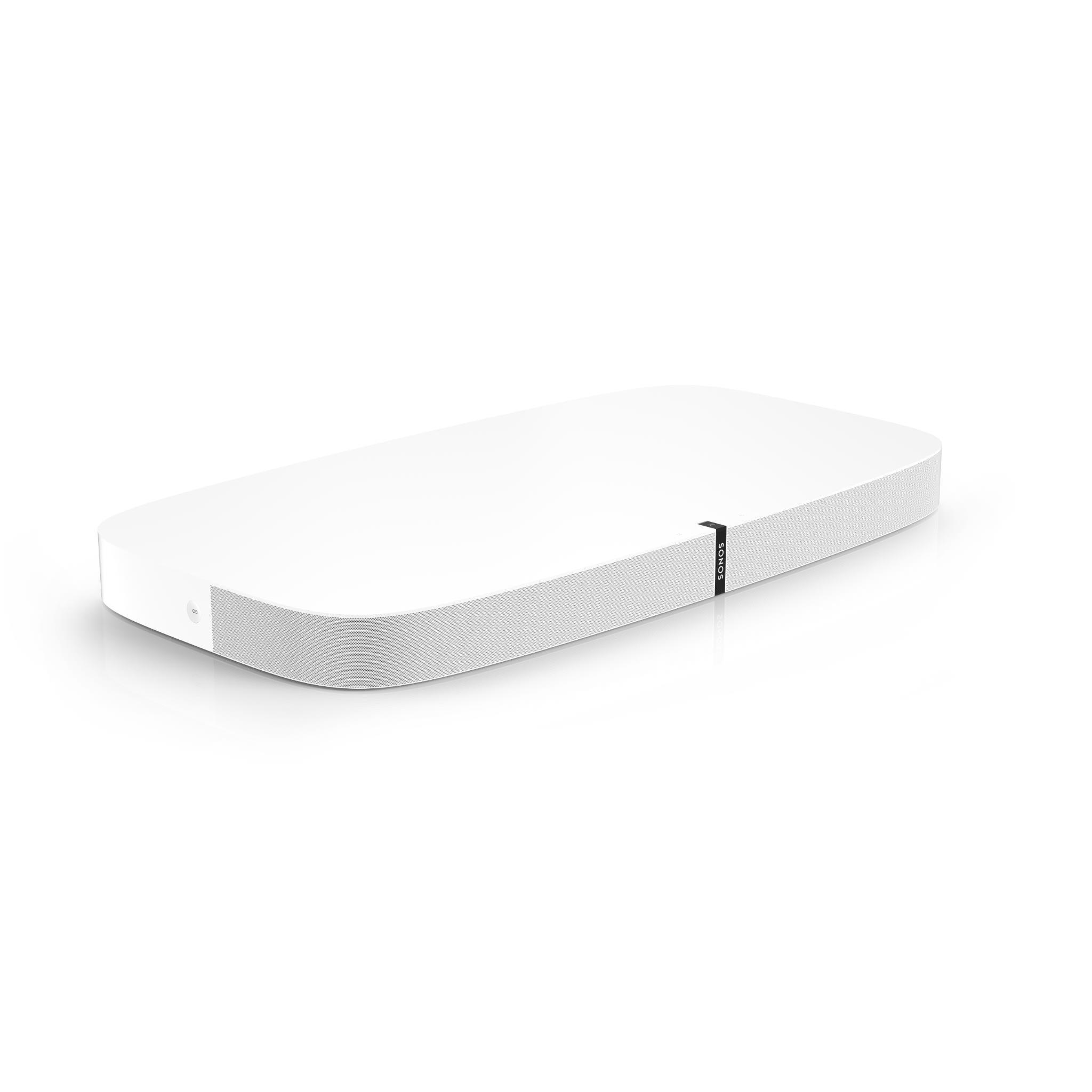 Sonos PLAYBASE Wireless Soundbase for Home Theatre and Streaming Music (White)
