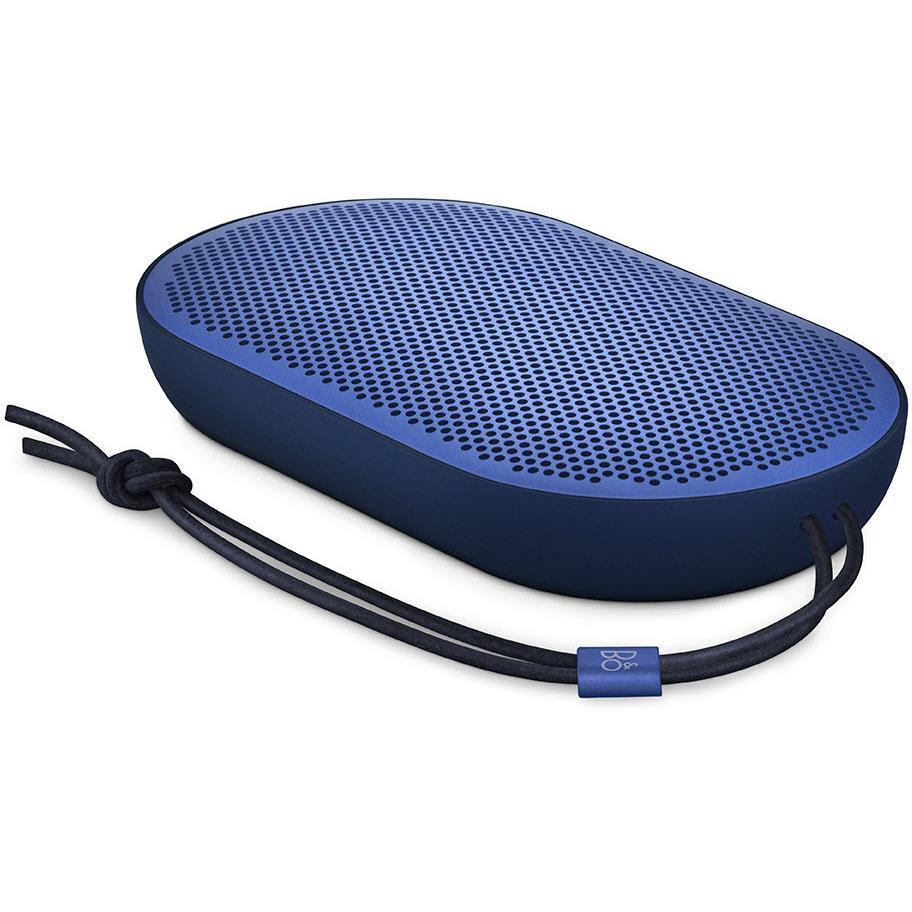 B&O Beoplay P2 Portable Wireless Bluetooth Speaker (Royal Blue)