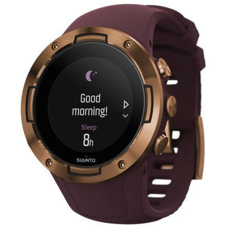 Suunto 5 GPS Sports Watch (Copper/Burgundy)