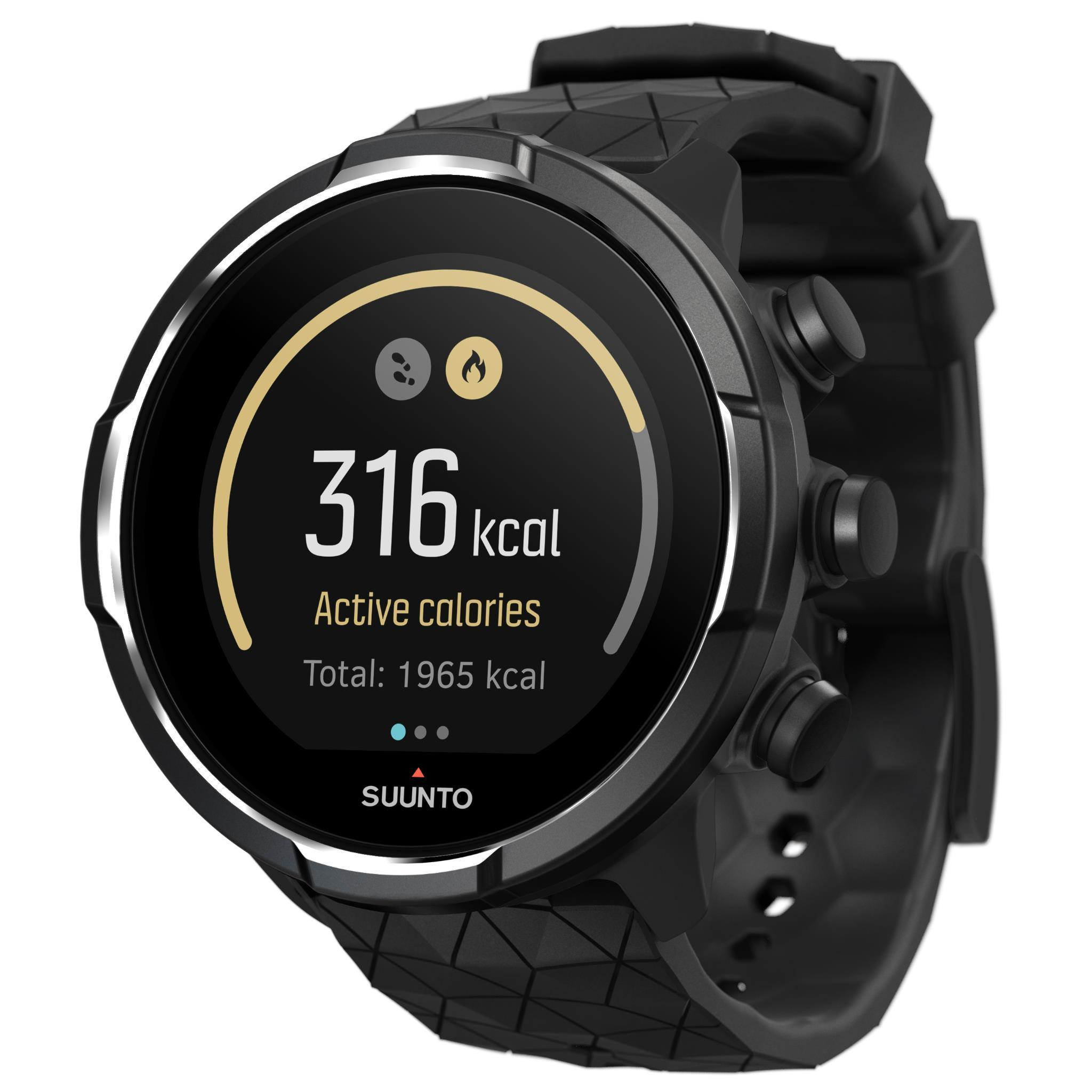 Suunto 9 Baro Multisport GPS Sports Watch (Titanium)