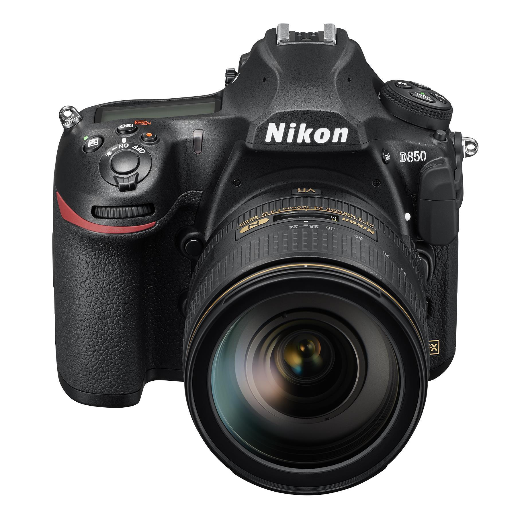 Nikon D850 Full Frame DSLR Camera with 24-120mm Lens [4K Video]