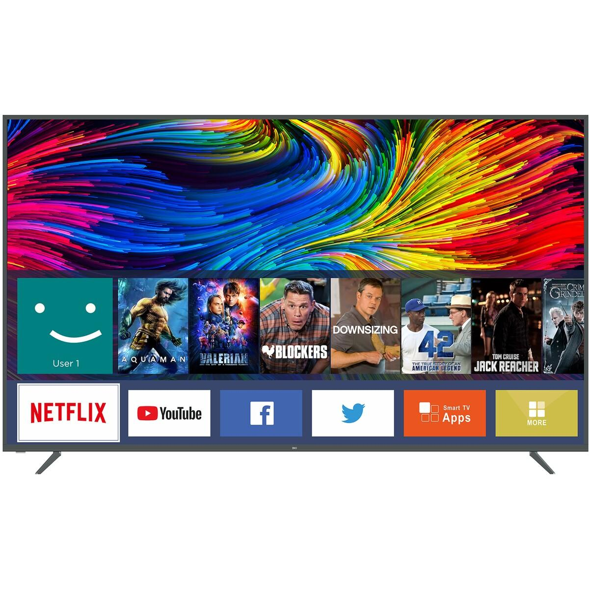 EKO 75″ Smart UHD LED TV with 4K Netflix