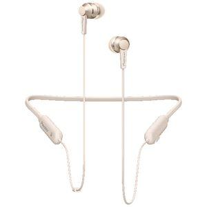 Pioneer Wireless Earphones with Mic Neckband Gold SE-C7BT