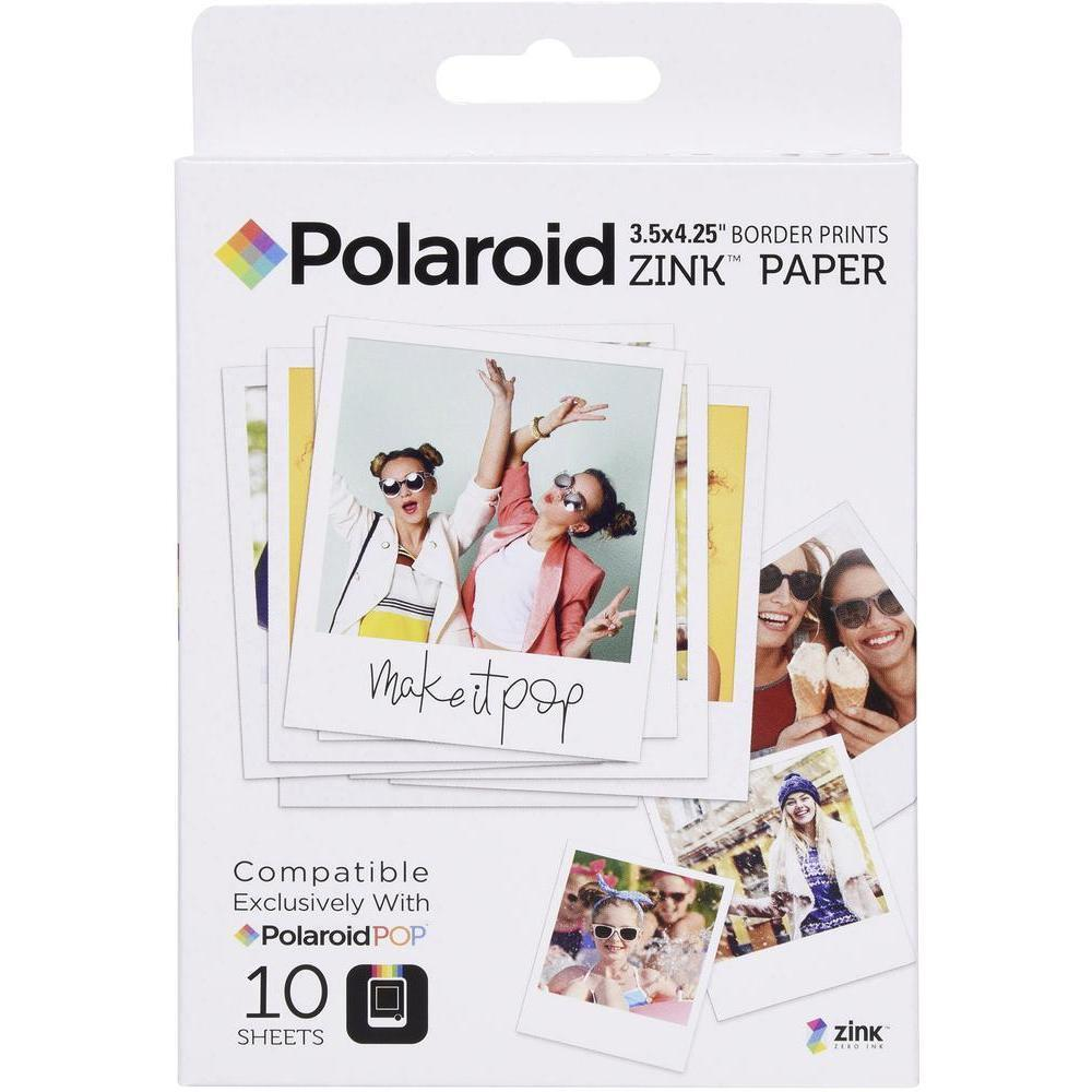Polaroid Zink 3×4″ Photo Paper for Polaroid POP (10 Pack)