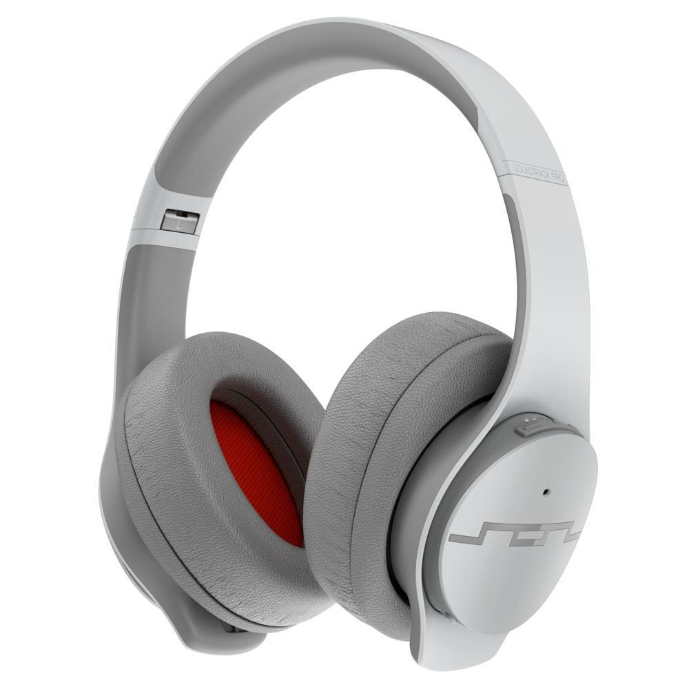Sol Republic Soundtrack Pro Over-Ear Wireless Noise Cancelling Headphones (Grey)