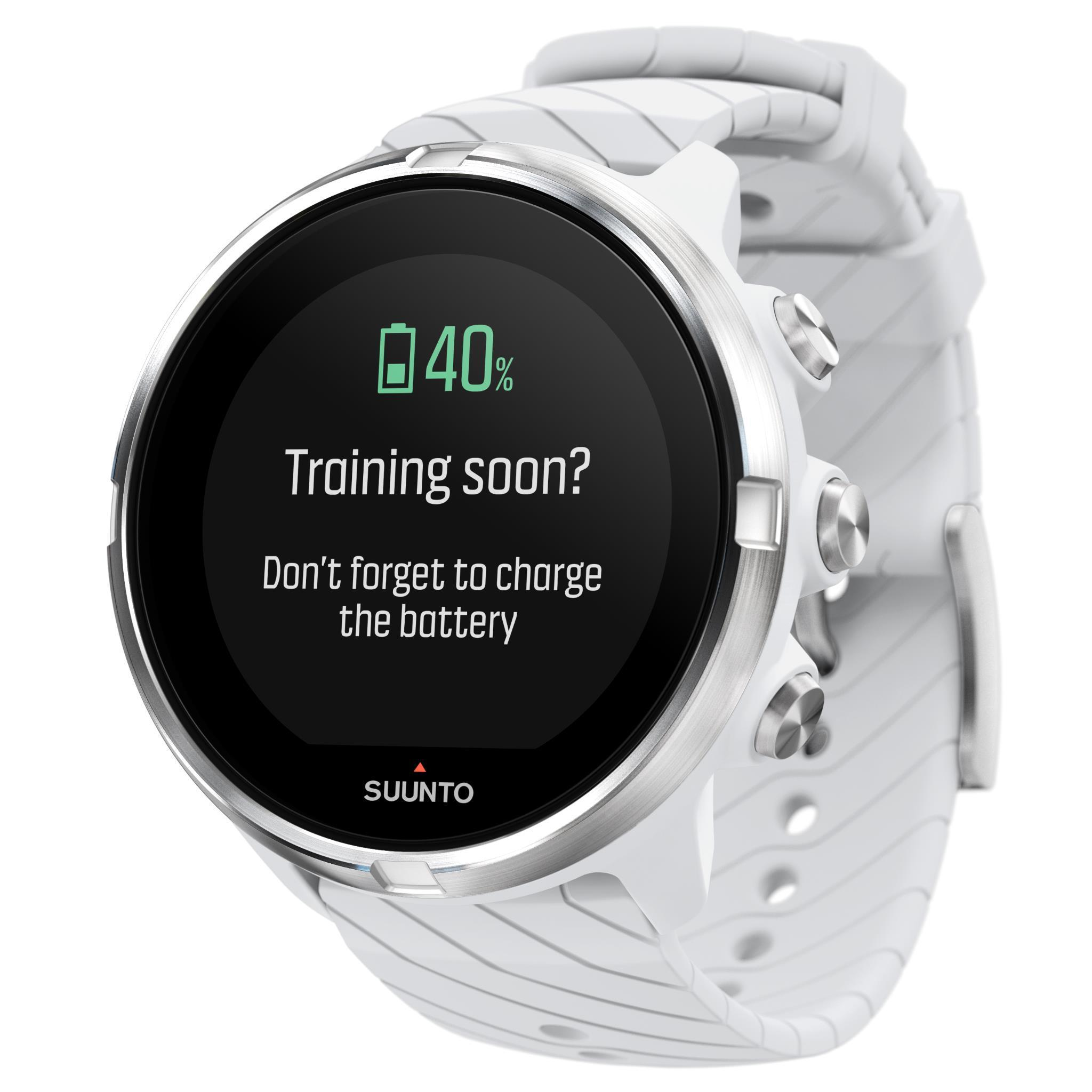 Suunto 9 Multisport GPS Sports Watch (White)