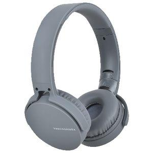 thecoopidea Headphones with Pouch Grey