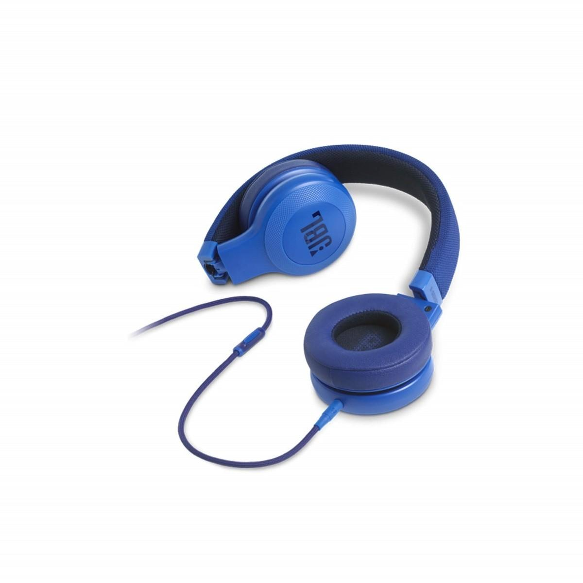 JBL E35 On-Ear Headphones – Blue