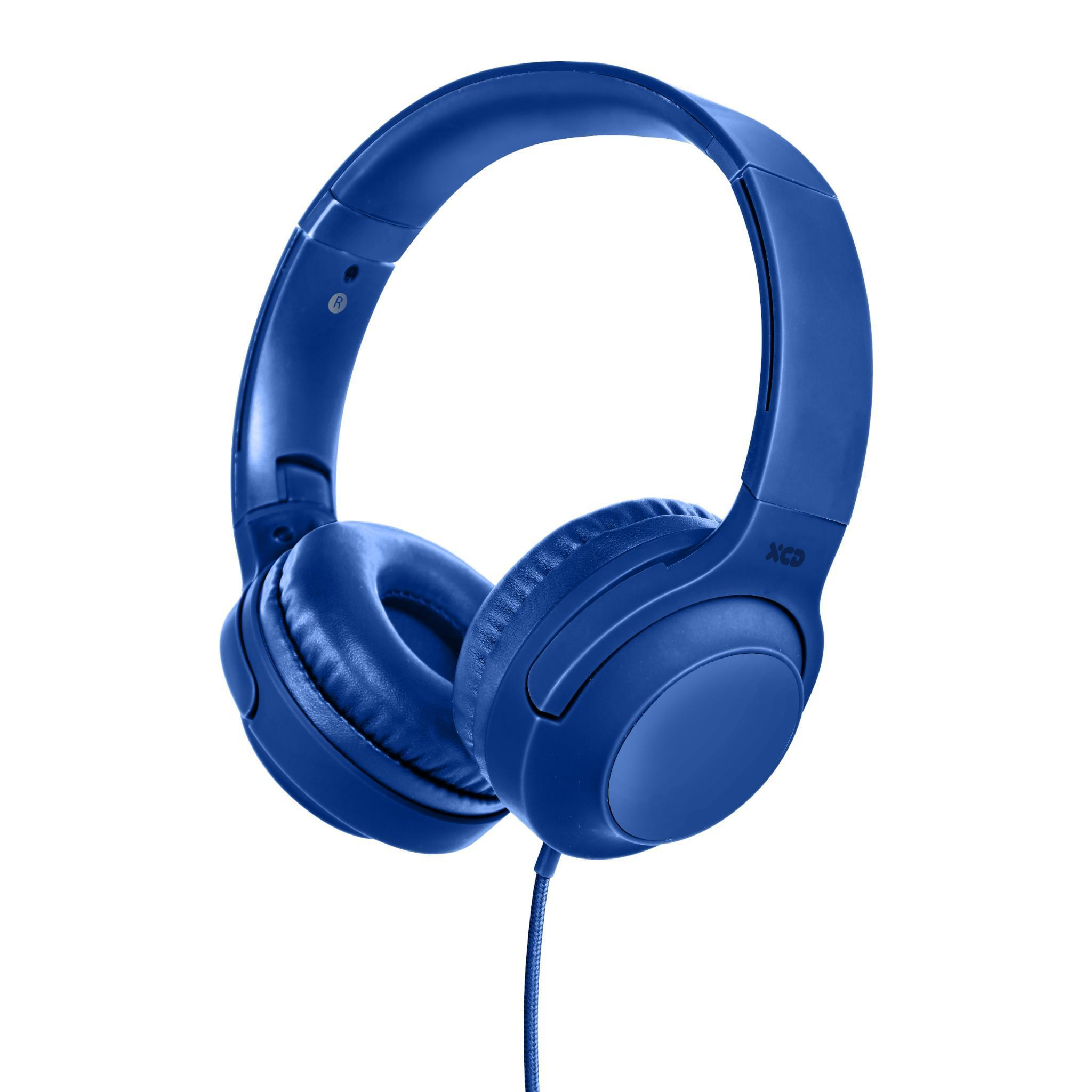 XCD Wired Over-ear Headphones (Blue)