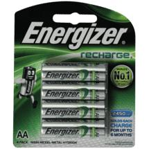 Energizer AA 4Pk Recharge Battery