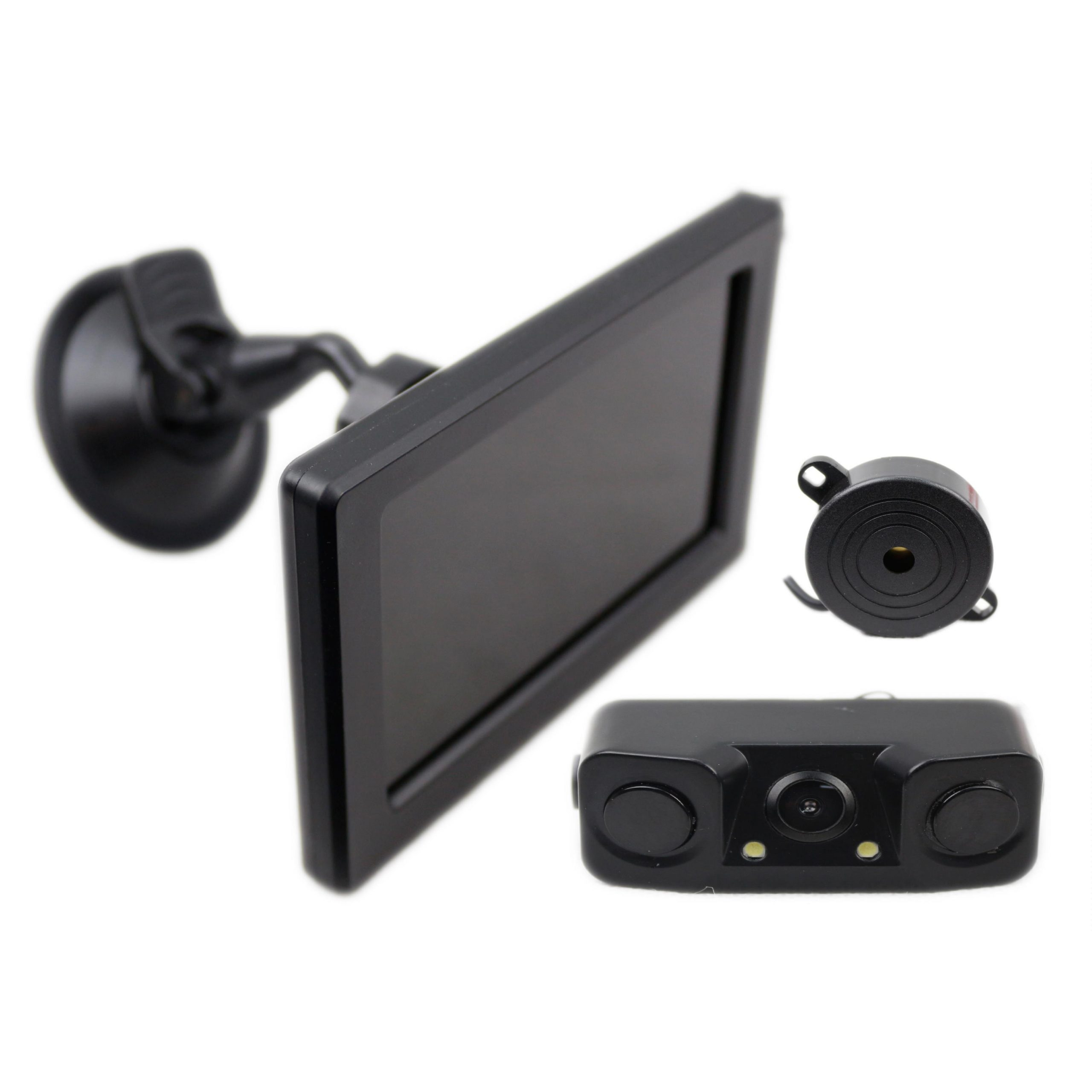 Smartcar RCS43M Reverse Camera with built in Reverse Sensors and 4.3″ Monitor