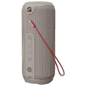 Qudo IPX5 Splashproof Wireless Speaker Grey