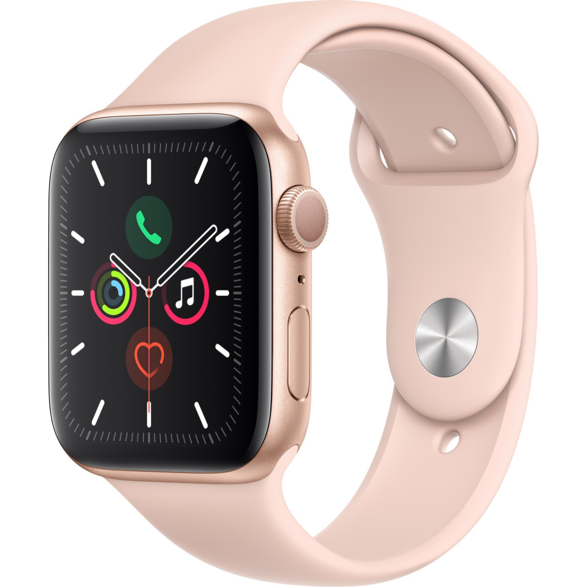 Apple Watch Series 5 44mm Gold Aluminum Case GPS