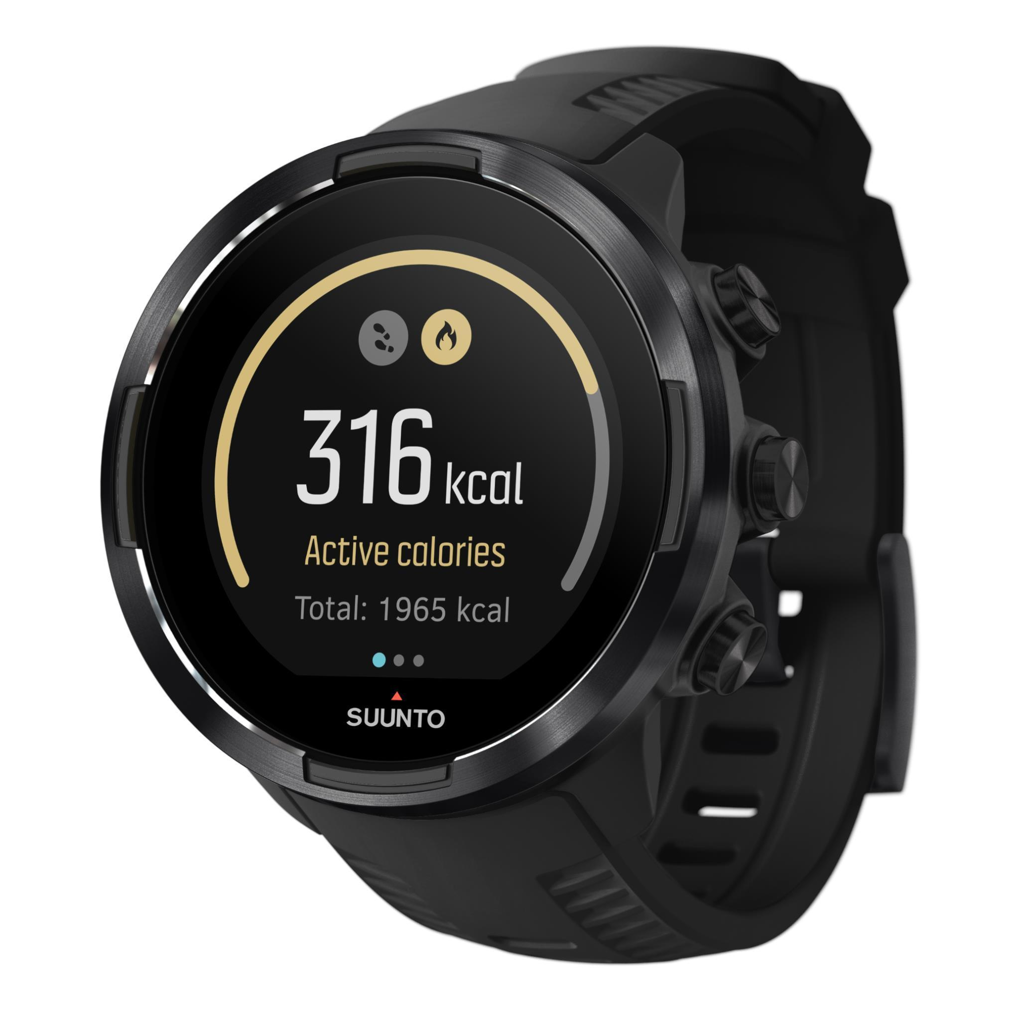 Suunto 9 Baro Multisport GPS Sports Watch (Black)