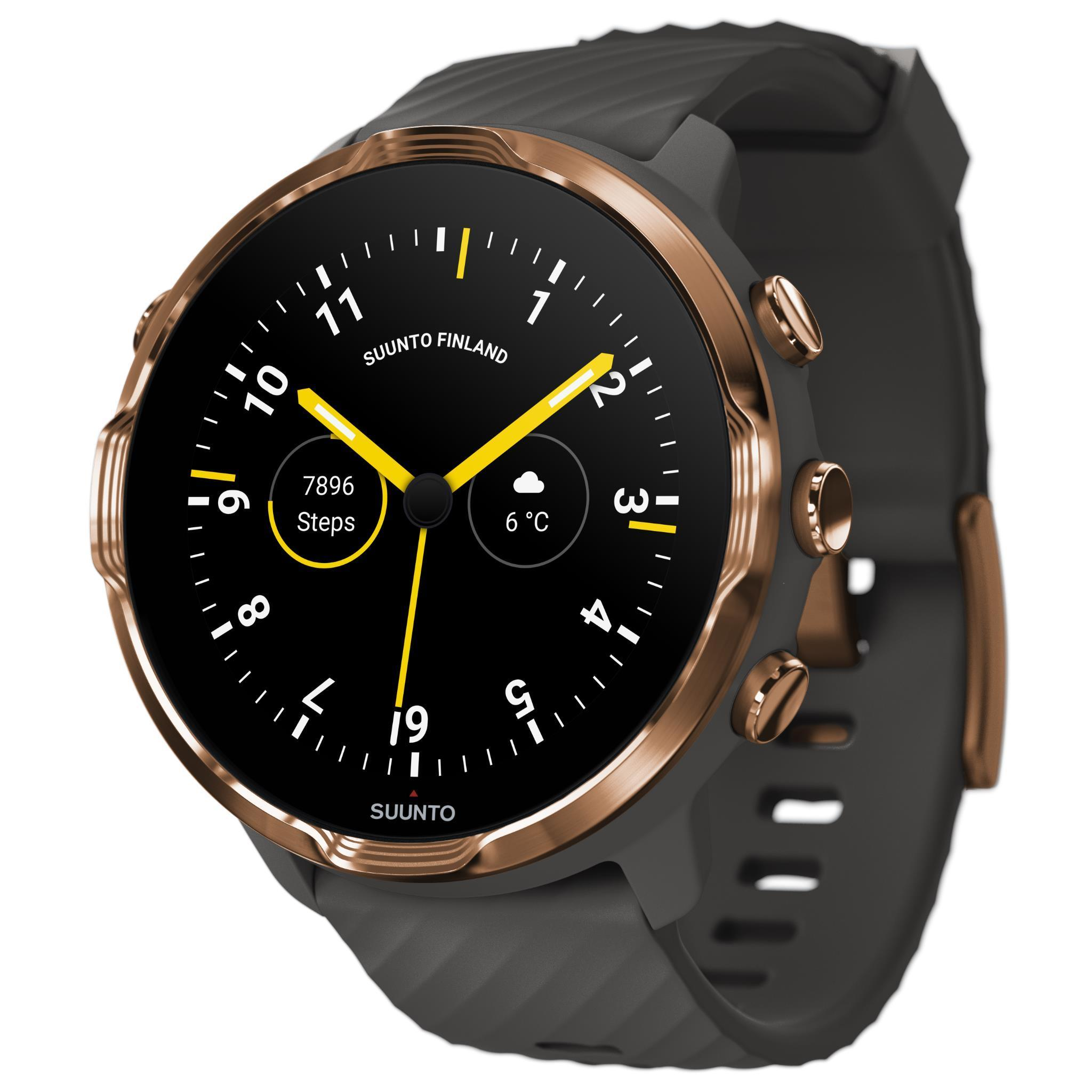 Suunto 7 GPS Sports Watch (Copper/Graphite)