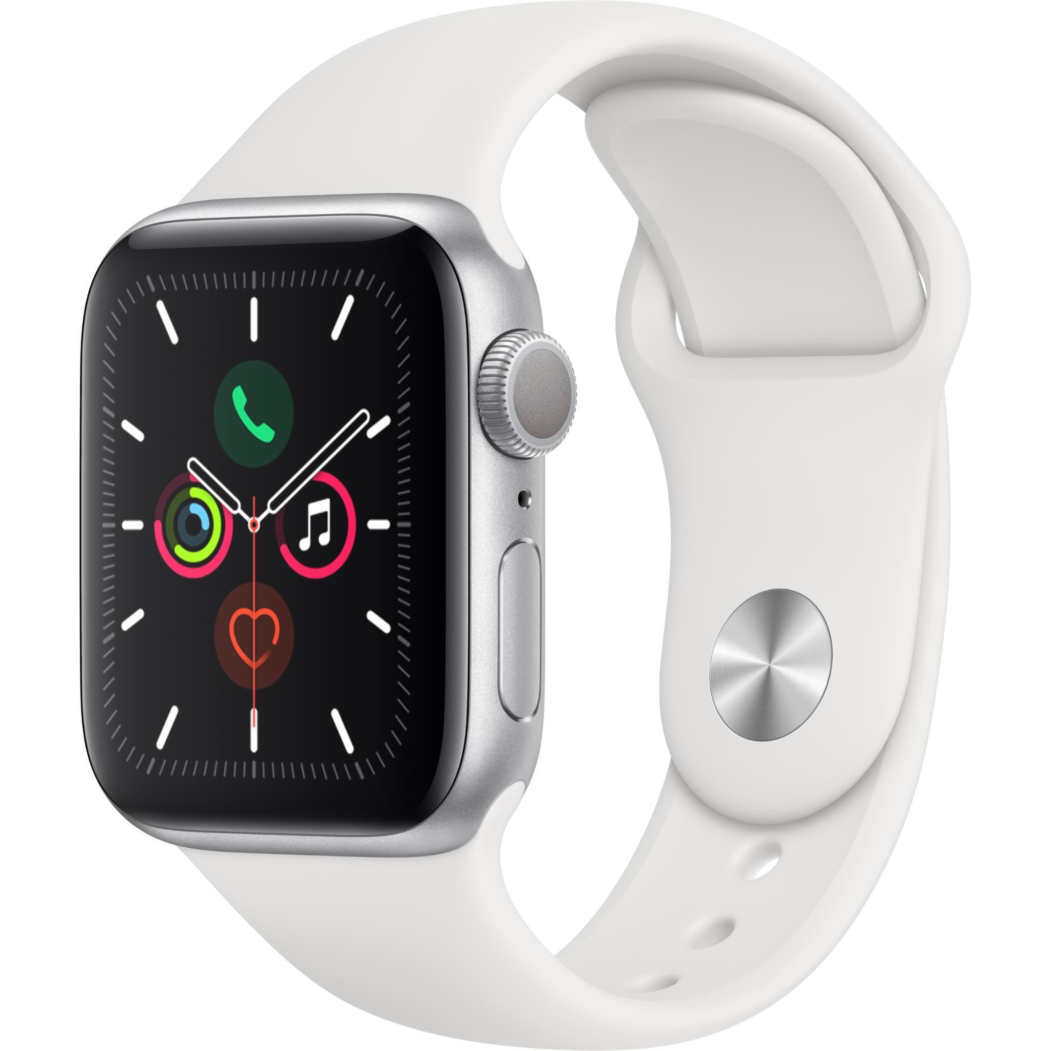 Apple Watch Series 5 40mm Silver Aluminum Case GPS