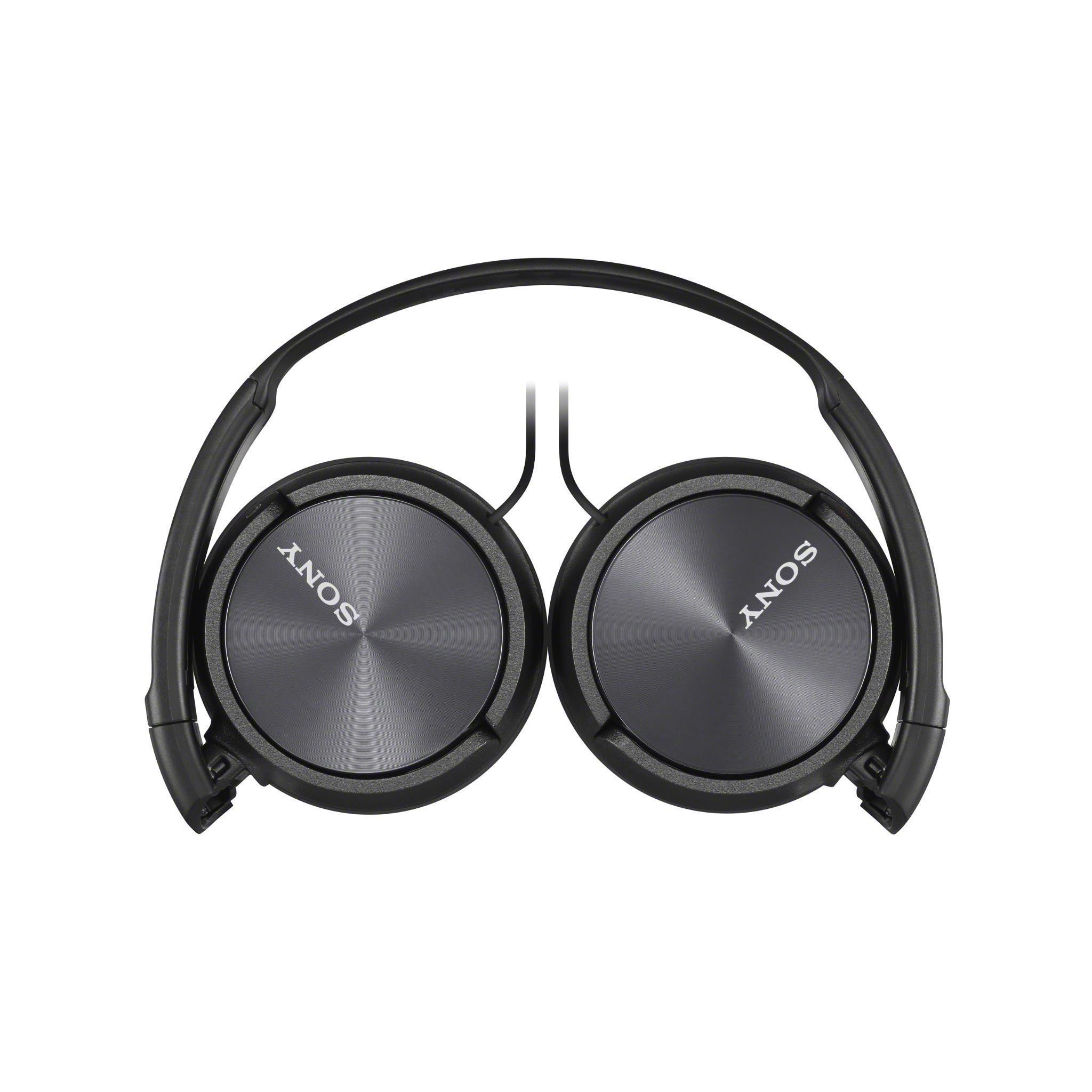 Sony ZX310 Sound Monitoring Over-Ear Headphones (Black)