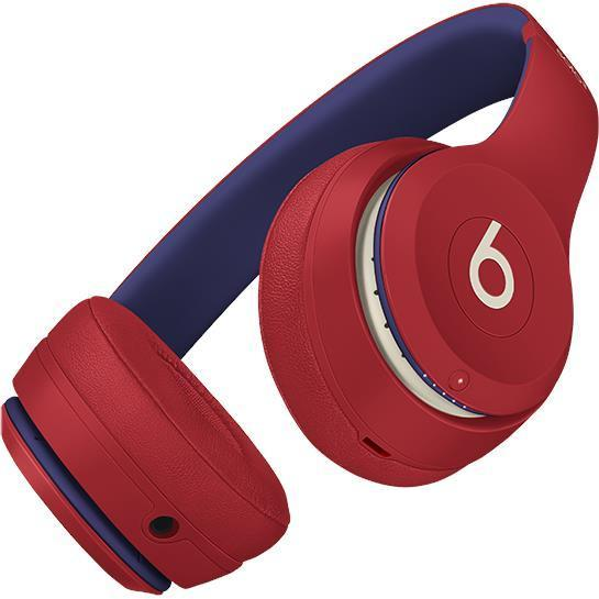 Beats Solo 3 Club Collection Wireless On-Ear Headphones (Club Red)