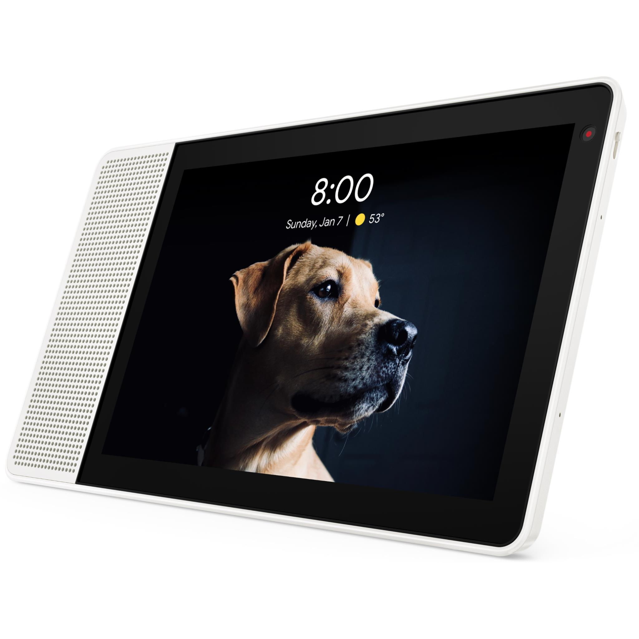 Lenovo Smart Display 10″ (White/Bamboo)