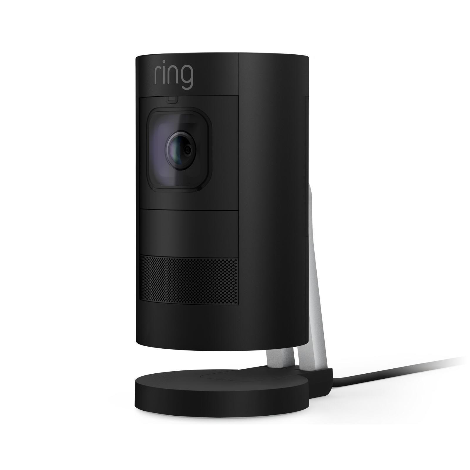Ring Stick Up Cam Wired HD Security Camera (Black)