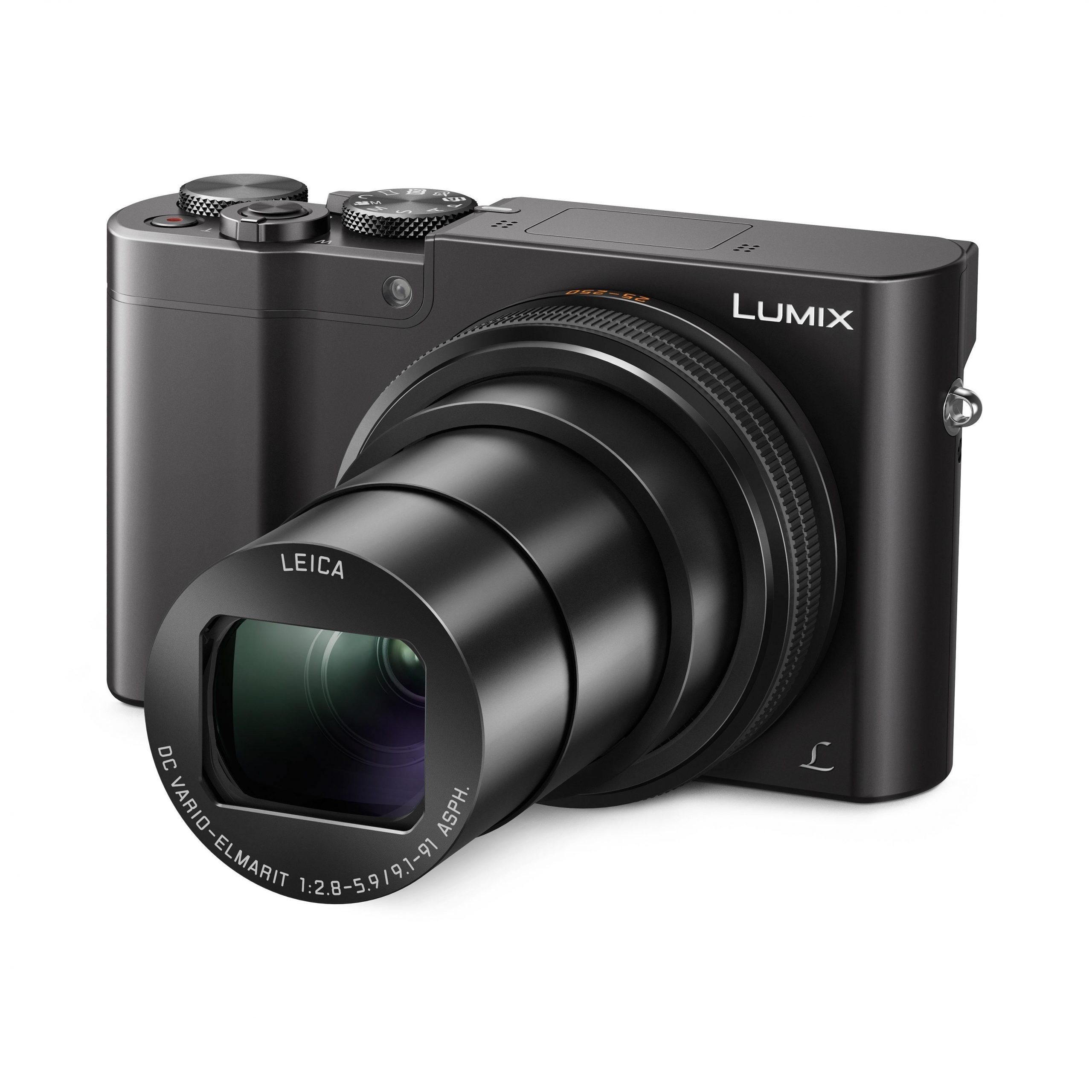 Panasonic Lumix TZ110 Compact Digital Camera [4K Video] (Black)