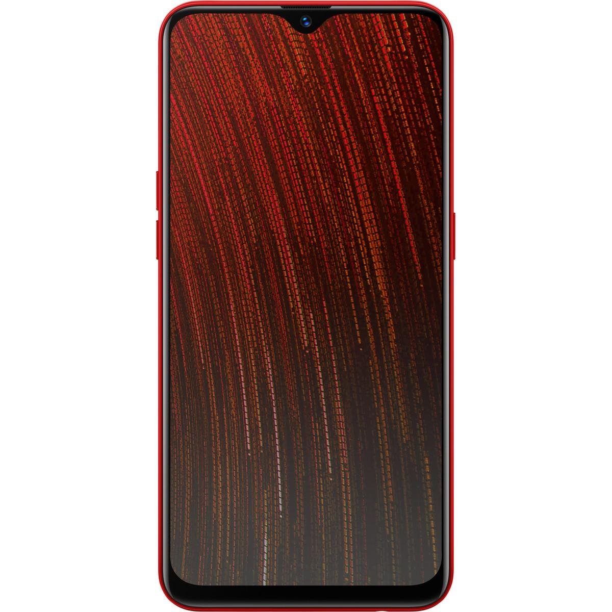 Optus Oppo AX5s Smartphone – Red