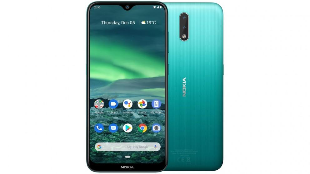 Nokia 2.3 32GB with Android One – Cyan Green