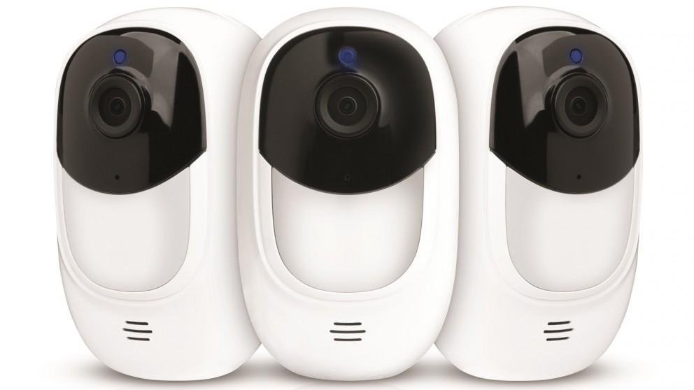Uniden Guardian App Cam Solo+ Triple Pack Wirefree Security Camera Kit