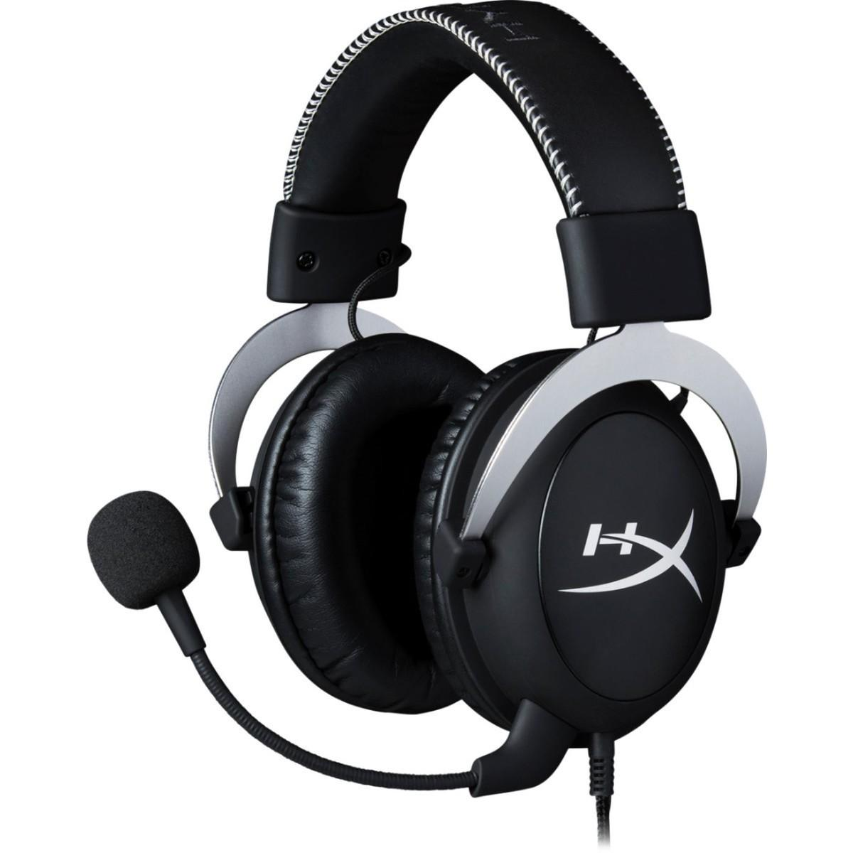 HyperX Cloudx Gaming Headset – Silver
