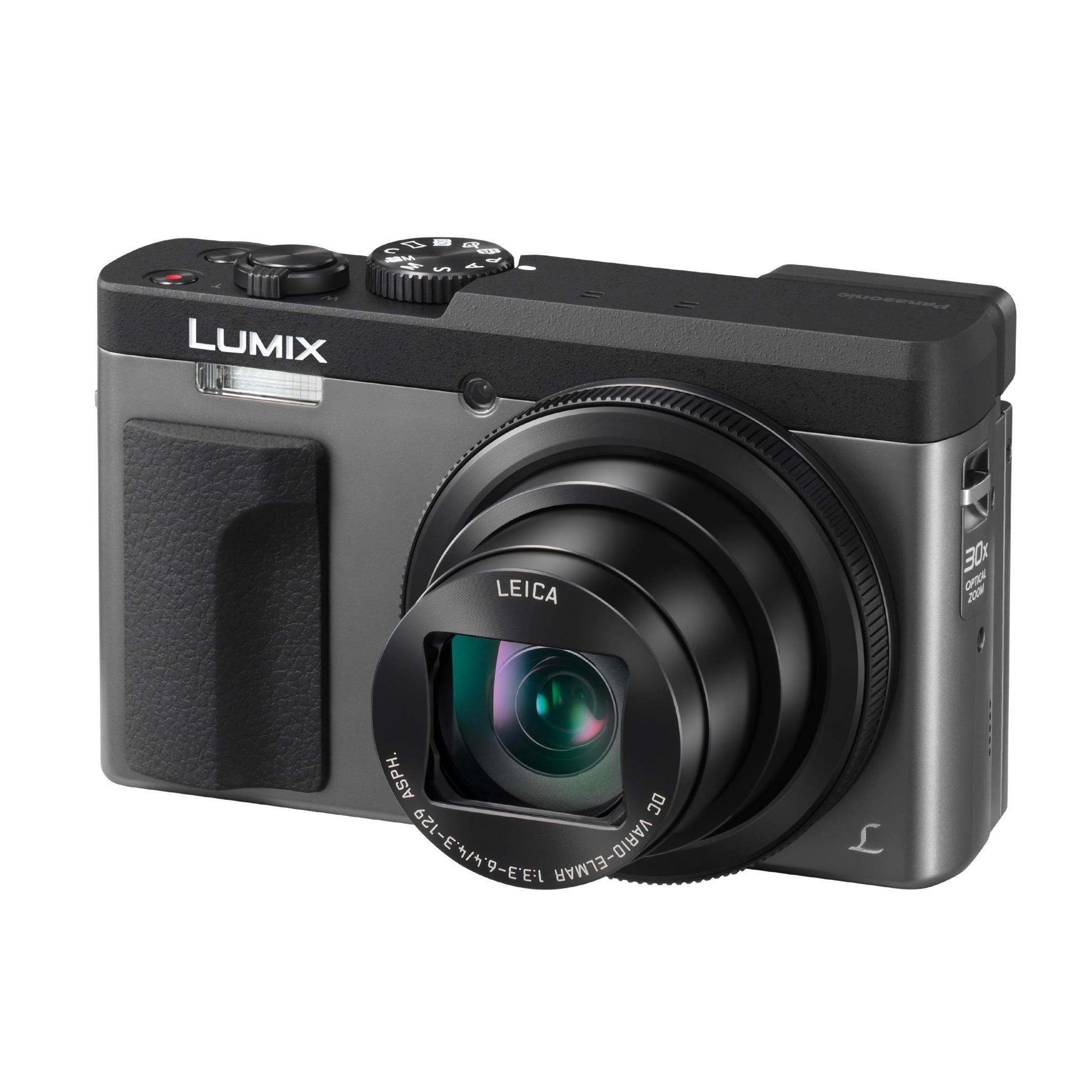 Panasonic Lumix TZ90 30x Zoom Compact Digital Camera [4K Video] (Silver)