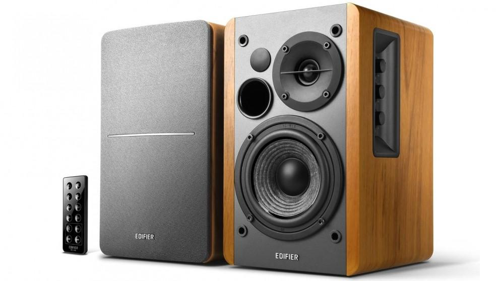 Edifier R1280DB 2.0 Lifestyle Bookshelf Bluetooth Studio Speaker – Brown