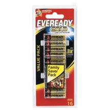 Energizer AAA 16Pk Eveready Gold Battery