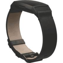 Fitbit Charge 4 Leather Band Large (Black)