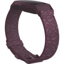 Fitbit Charge 4 Woven Band Large (Rosewood)