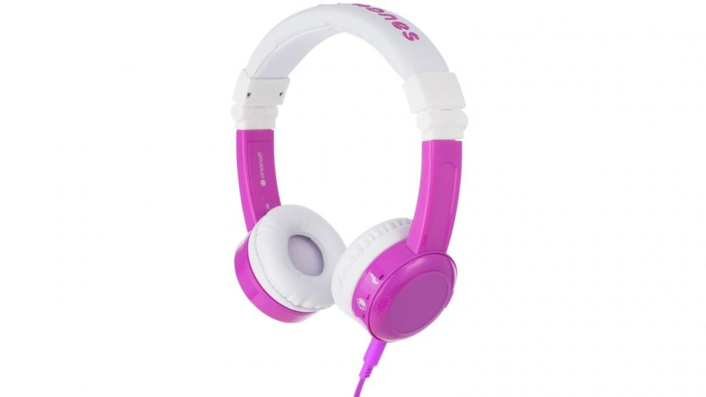 BuddyPhones InFlight Kids Headphones – Purple