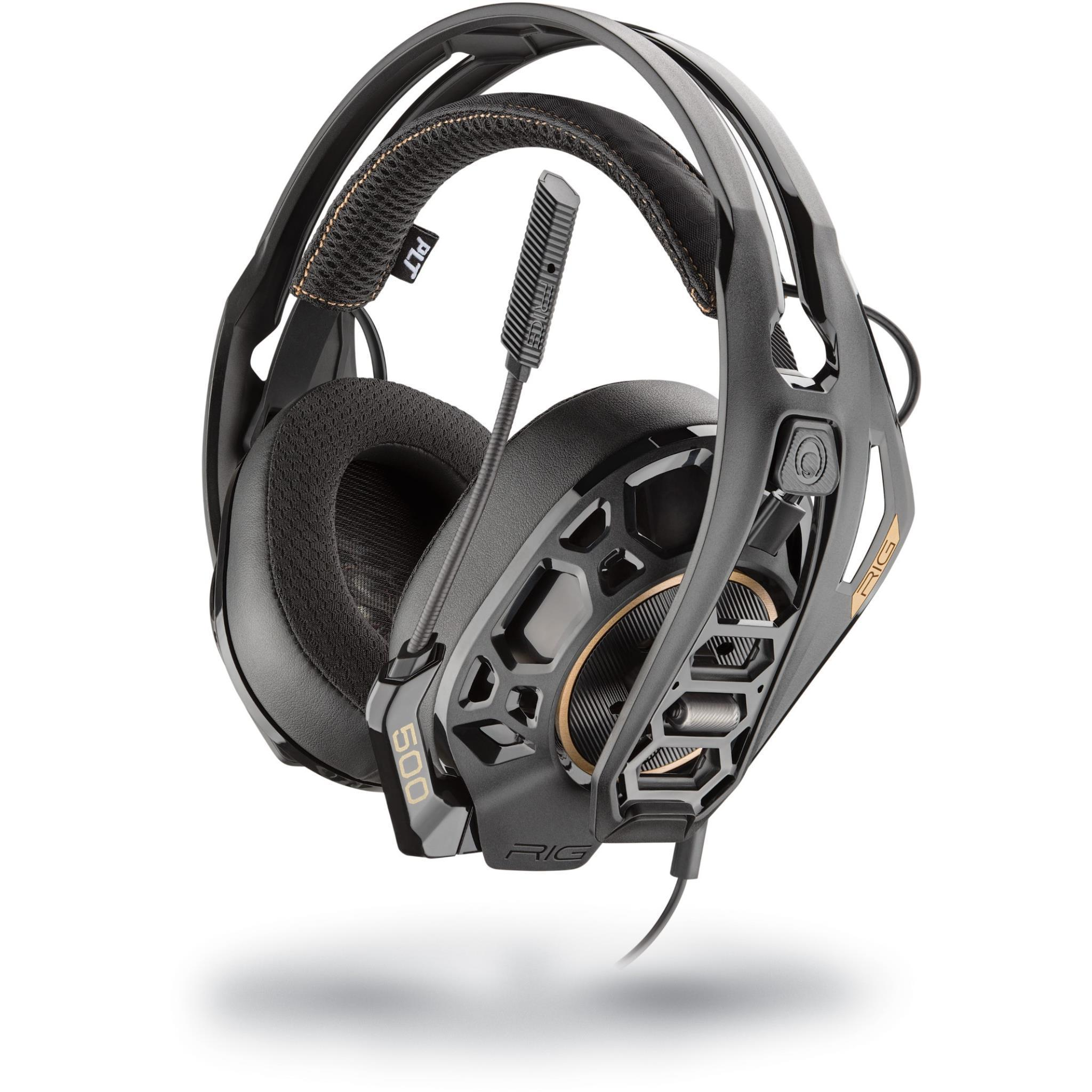 Plantronics RIG 500 PRO HA High-Resolution Gaming Headset for PC