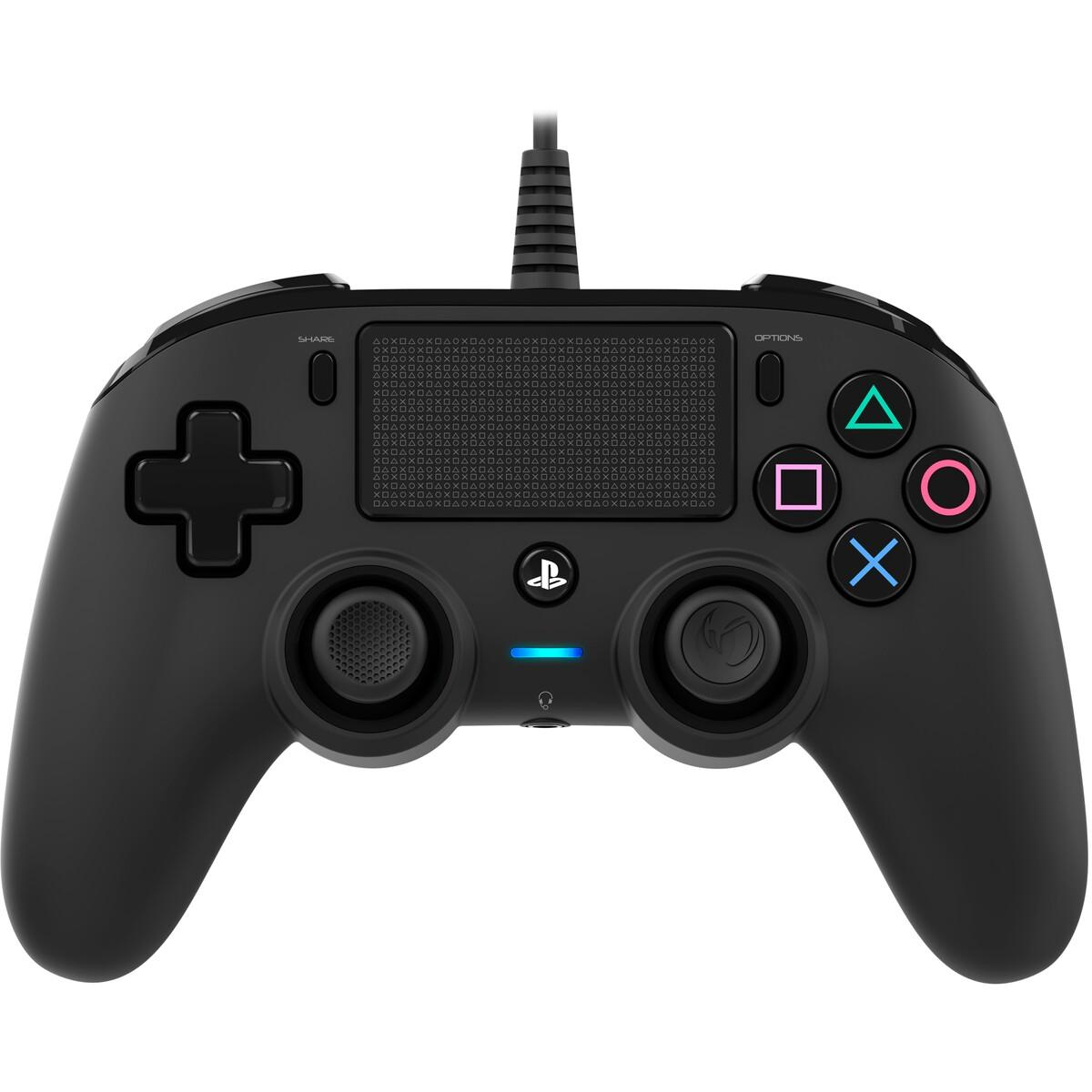 Nacon Gaming PS4 Wired Compact Controller – Black