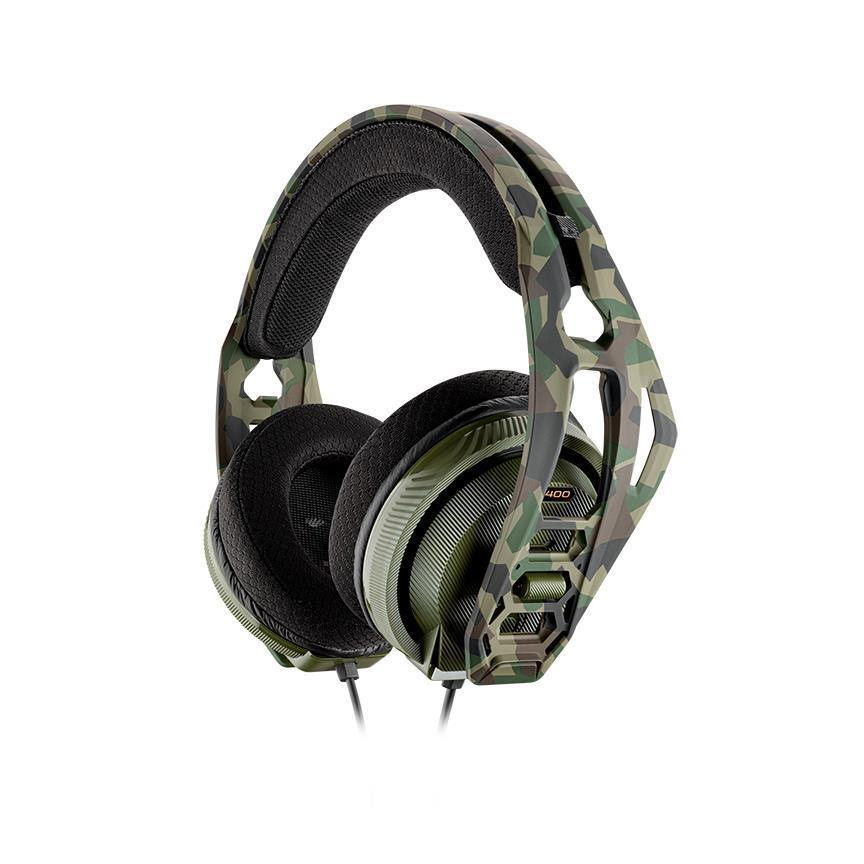 Plantronics RIG 400HX Stereo Gaming Headset for Xbox One (Forest Camo)