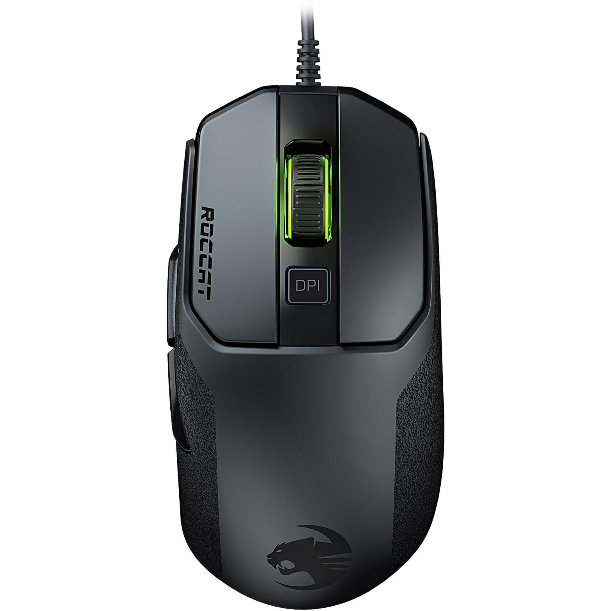 ROCCAT Kain 100 AIMO RGB Gaming Mouse (Black)