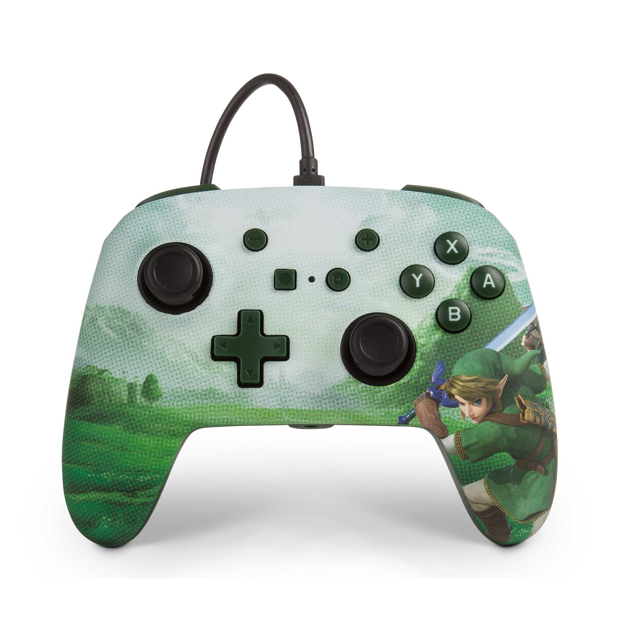 PowerA Enhanced Wired Controller for Nintendo Switch (Link Hyrule)