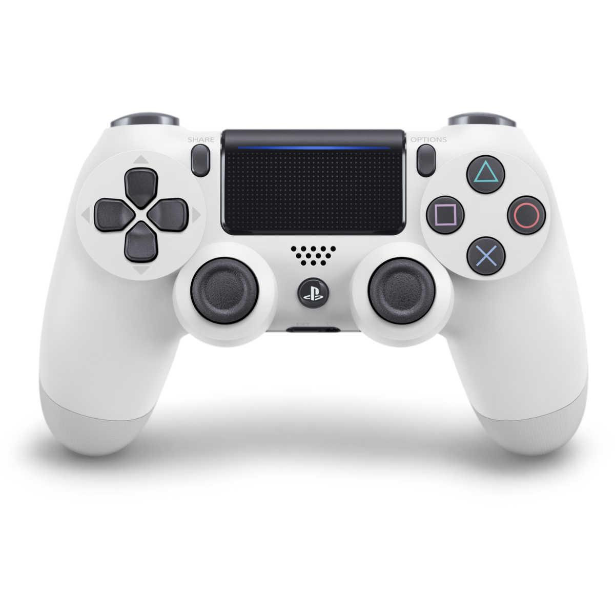 PlayStation 4 DualShock Wireless V2 Controller – Glacier White