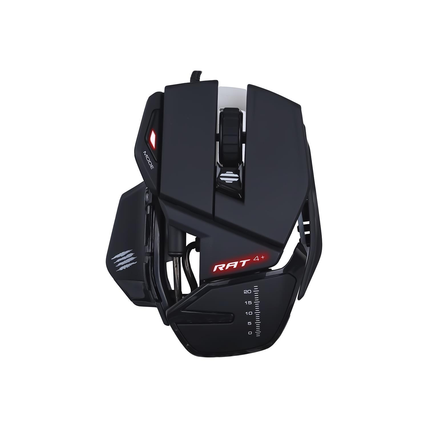 Mad Catz R.A.T. 4+ Optical Gaming Mouse