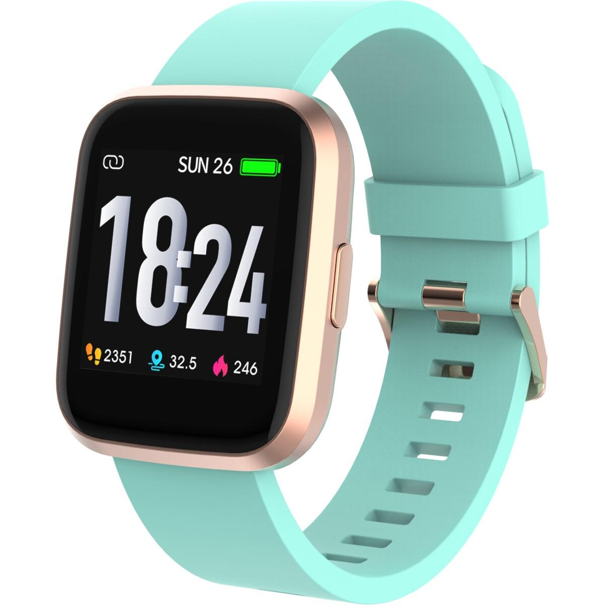 DGTEC Smart Watch – Mint/Pink