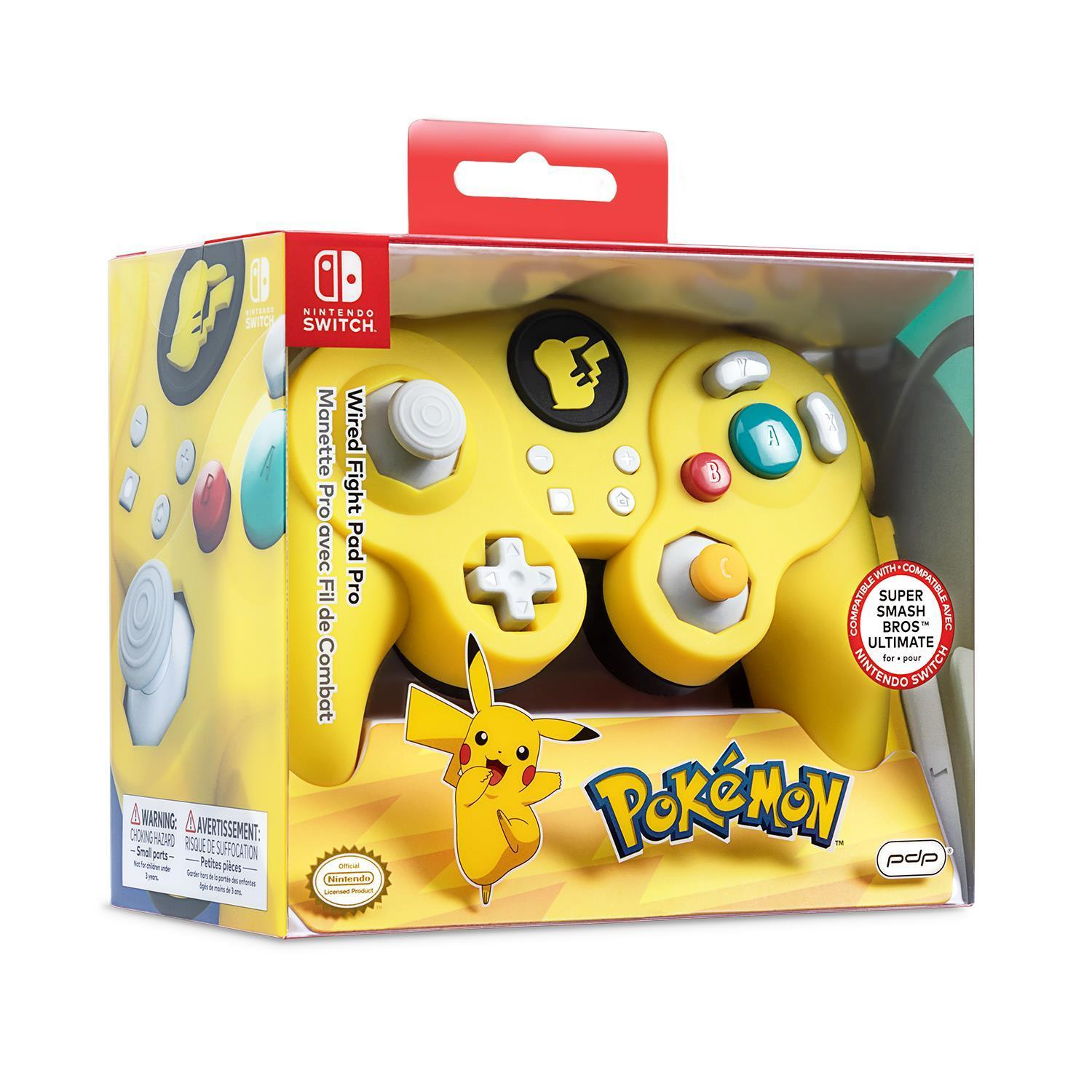 Wired Fight Pad Pro for Nintendo Switch (Pikachu)